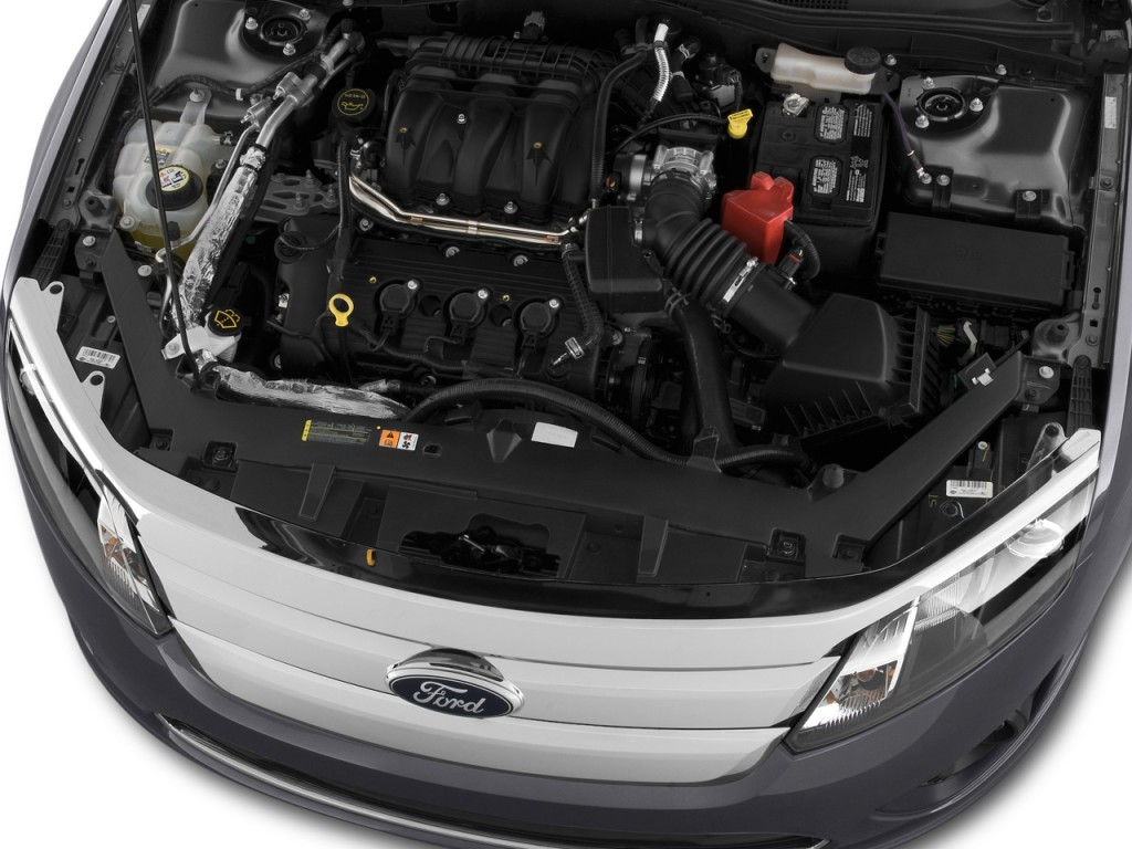 Image: 2012 Ford Fusion 4-door Sedan SE FWD Engine, size ...
