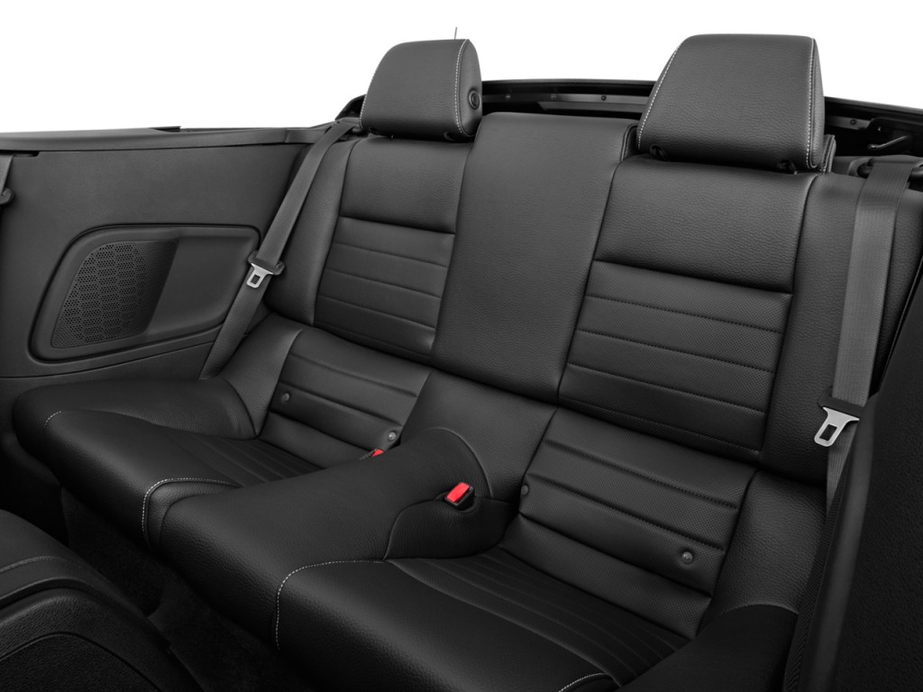 Image: 2012 Ford Mustang 2-door Convertible Premium Rear Seats, size: 1024 x 768, type: gif ...