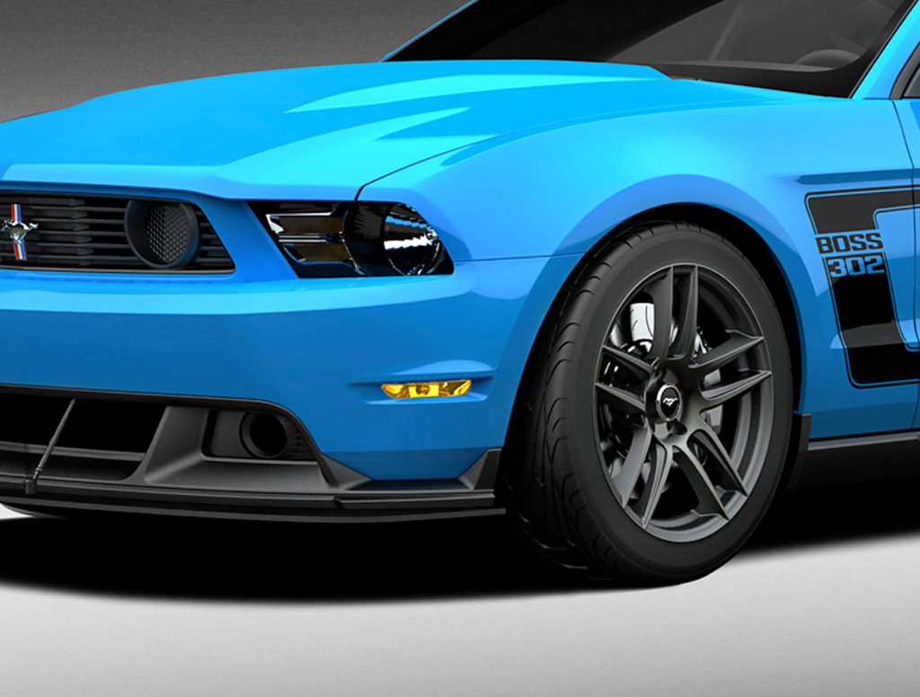 Image Grabber Blue 2012 Ford Mustang Boss 302 Laguna Seca