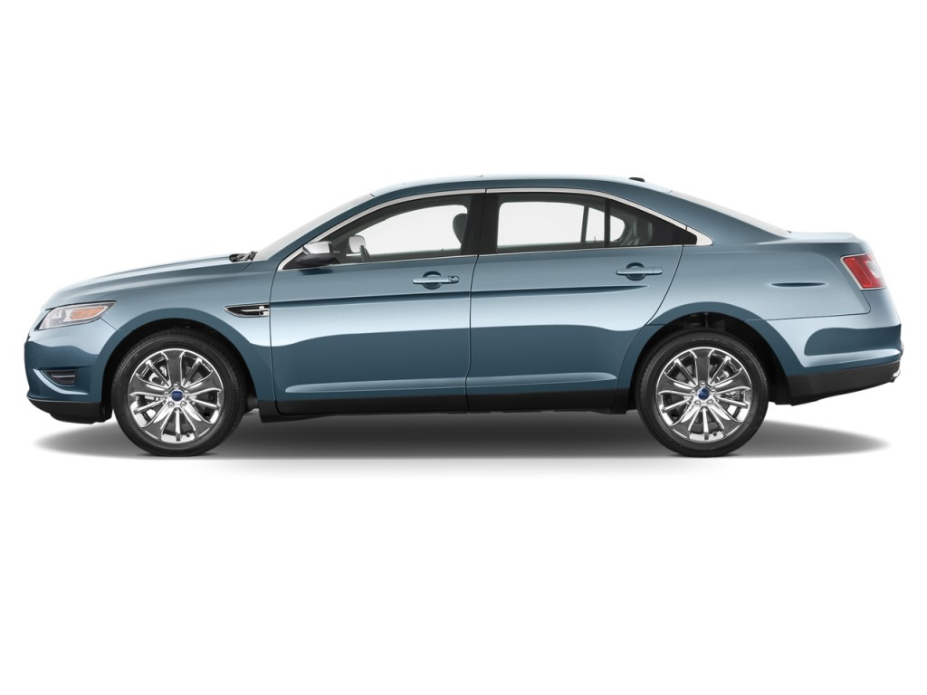 Ford Taurus Door Sedan Limited Fwd Side Exterior View L