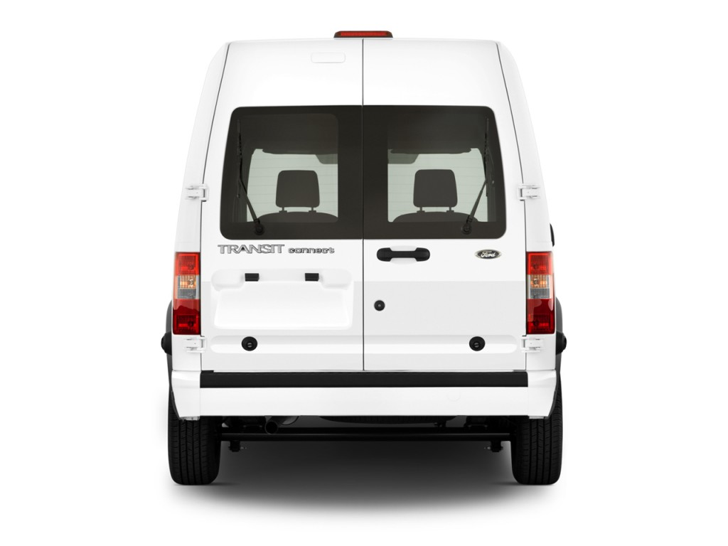 Image 2012 Ford Transit Connect 114 6 Quot Xl W O Side Or Rear Door Glass Rear Exterior View Size