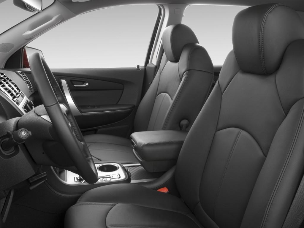 Image: 2012 GMC Acadia FWD 4-door SLT1 Front Seats, size ...