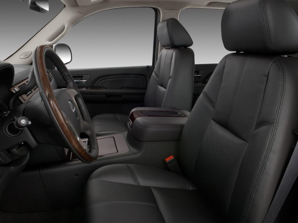 Image: 2012 GMC Yukon 2WD 4-door 1500 Denali Front Seats ...