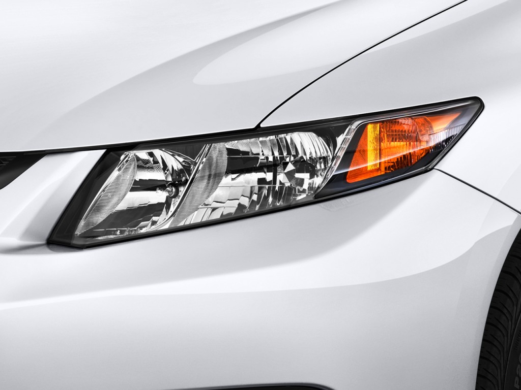 2016 Honda Element >> Image: 2012 Honda Civic Coupe 2-door Auto EX Headlight ...