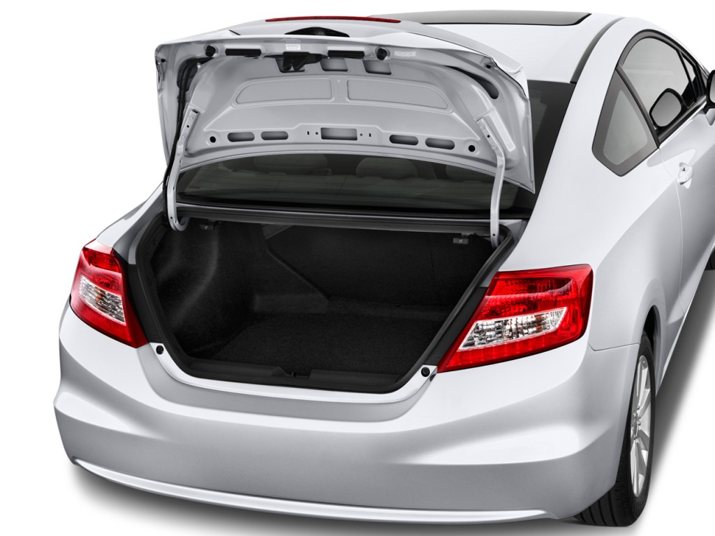 Image: 2012 Honda Civic Coupe 2-door Auto EX Trunk, size ...
