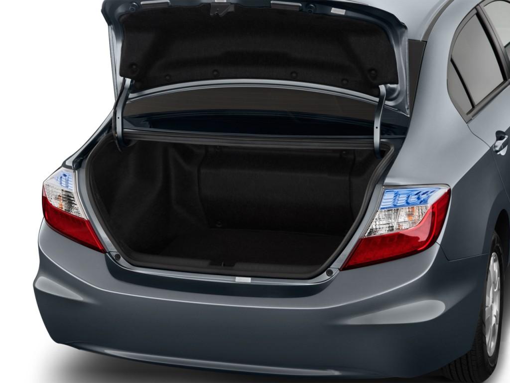 image 2012 honda civic hybrid 4 door sedan l4 cvt trunk size 1024 x 768 type gif posted on. Black Bedroom Furniture Sets. Home Design Ideas
