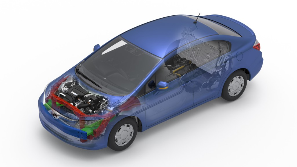 Image 2012 Honda Civic Hybrid Size 1024 X 576 Type