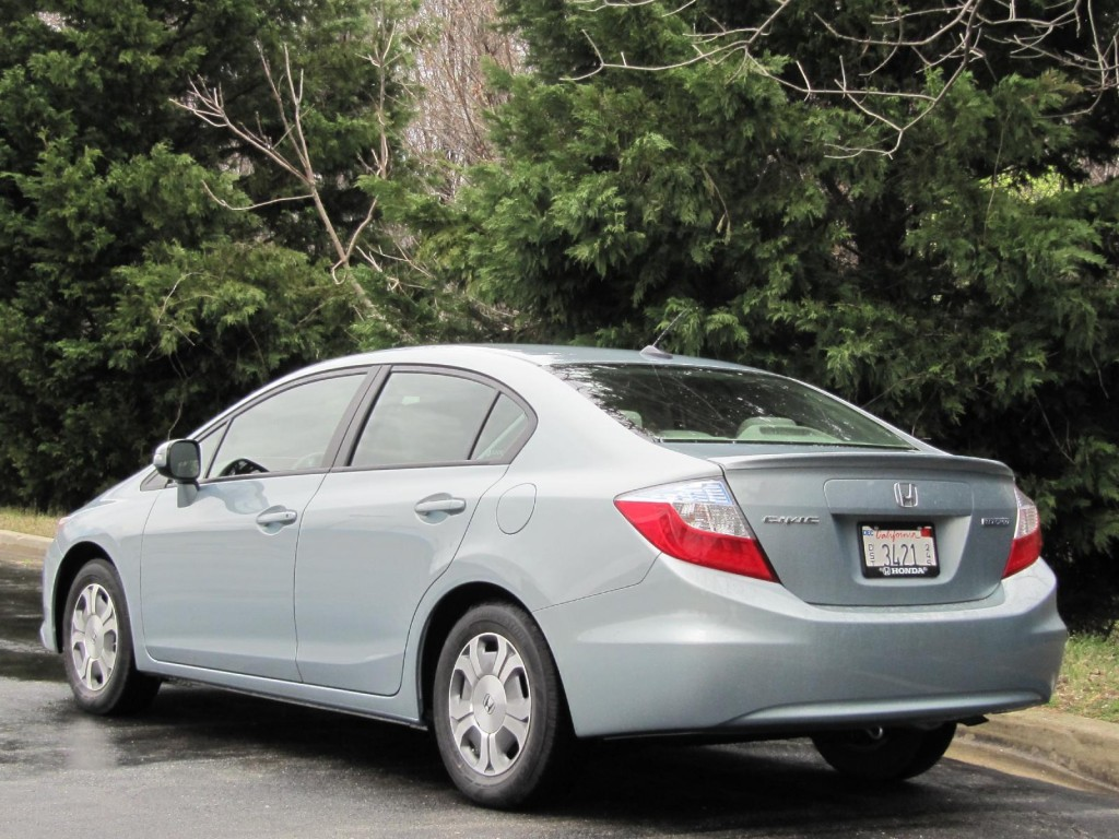 Honda honda civic 2003 hybrid : 2012 Honda Civic Hybrid: Green Car Reports Best Car To Buy 2012 ...