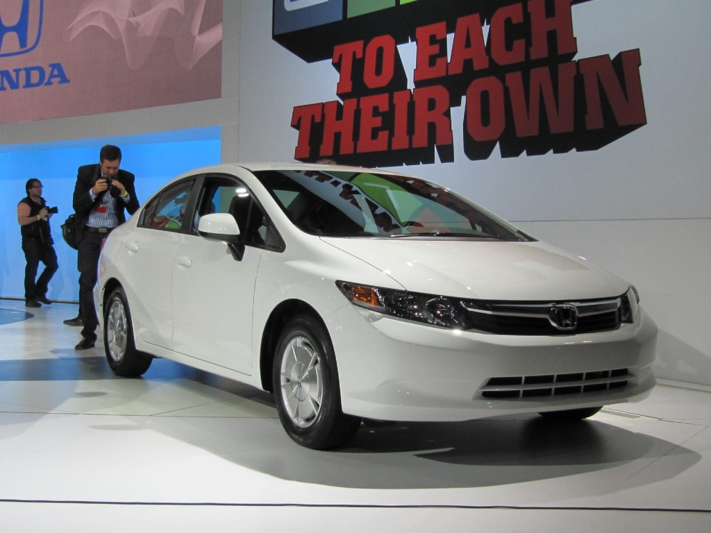 2012 Honda Civic launch, New York Auto Show, April 2011