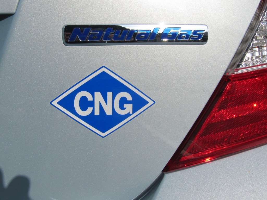 2012 Honda Civic Natural Gas, El Segundo, CA, Nov 2011