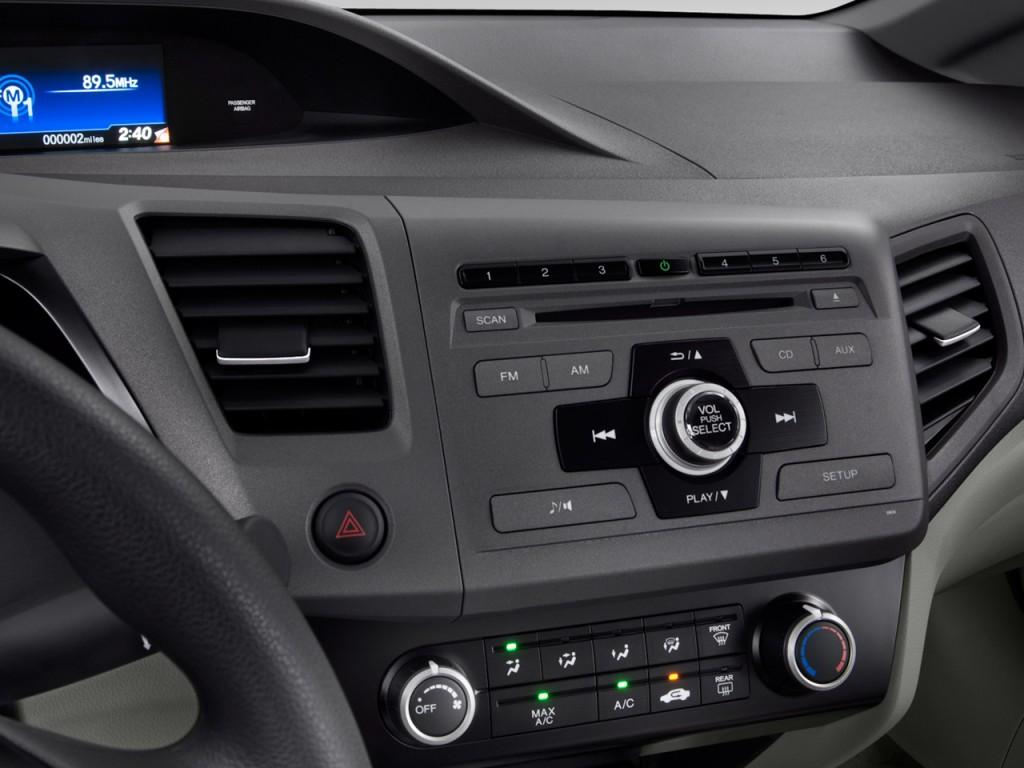 image 2012 honda civic sedan 4 door auto lx audio system size 1024 x 768 type gif posted. Black Bedroom Furniture Sets. Home Design Ideas