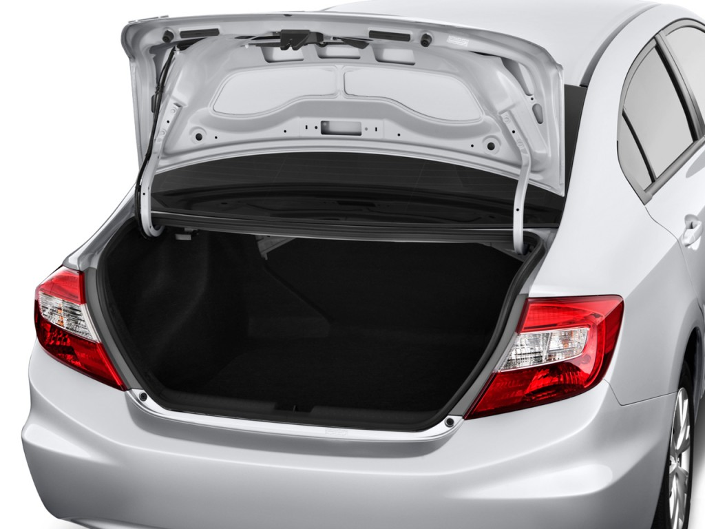 Image: 2012 Honda Civic Sedan 4-door Auto LX Trunk, size ...