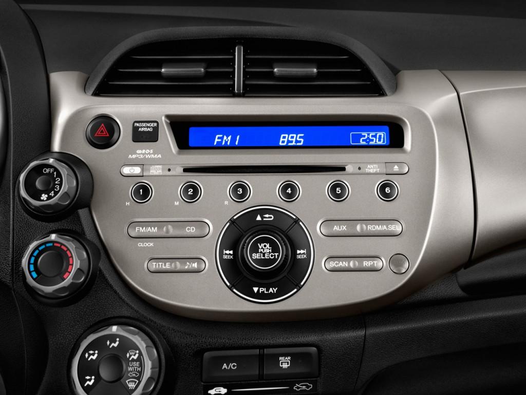 Image 2012 Honda Fit 5dr Hb Auto Audio System Size 1024