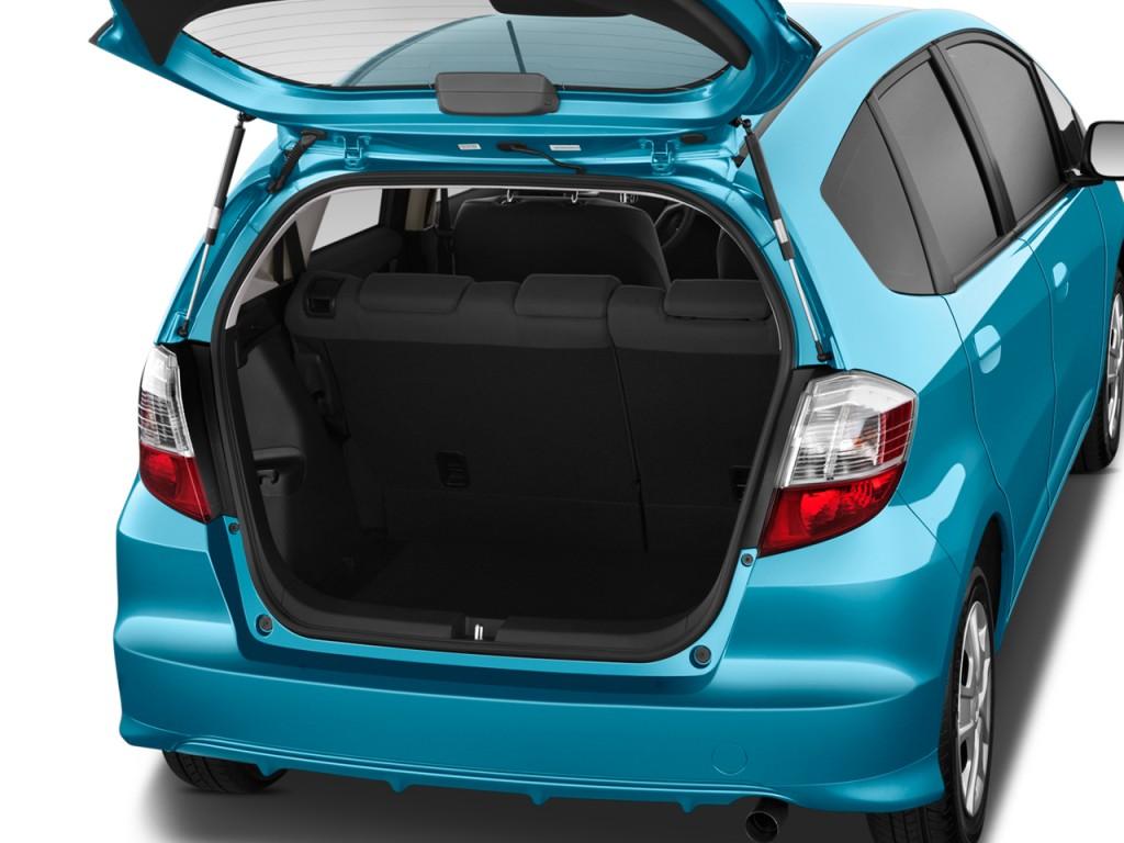 Image 2012 Honda Fit 5dr Hb Auto Trunk Size 1024 X 768