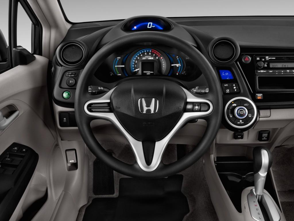 image 2012 honda insight 5dr cvt steering wheel size. Black Bedroom Furniture Sets. Home Design Ideas