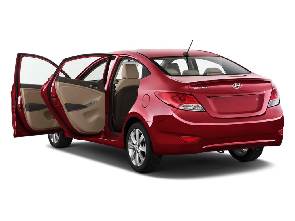 Image 2012 Hyundai Accent 4 Door Sedan Auto Gls Open Doors Size 1024 X 768 Type Gif Posted