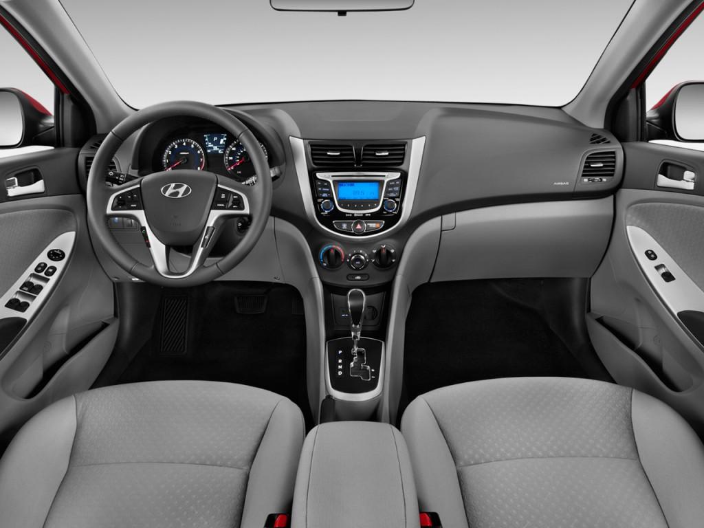 Image: 2012 Hyundai Accent 5dr HB Auto SE Dashboard, size ...