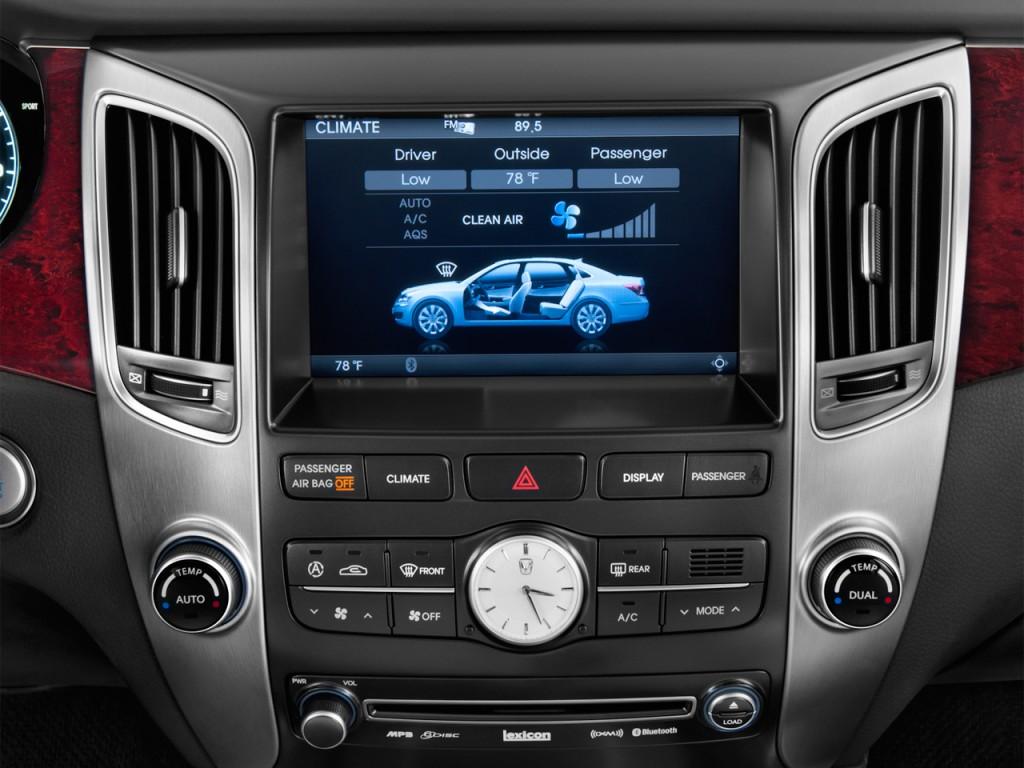 Image 2012 Hyundai Equus 4 Door Sedan Signature