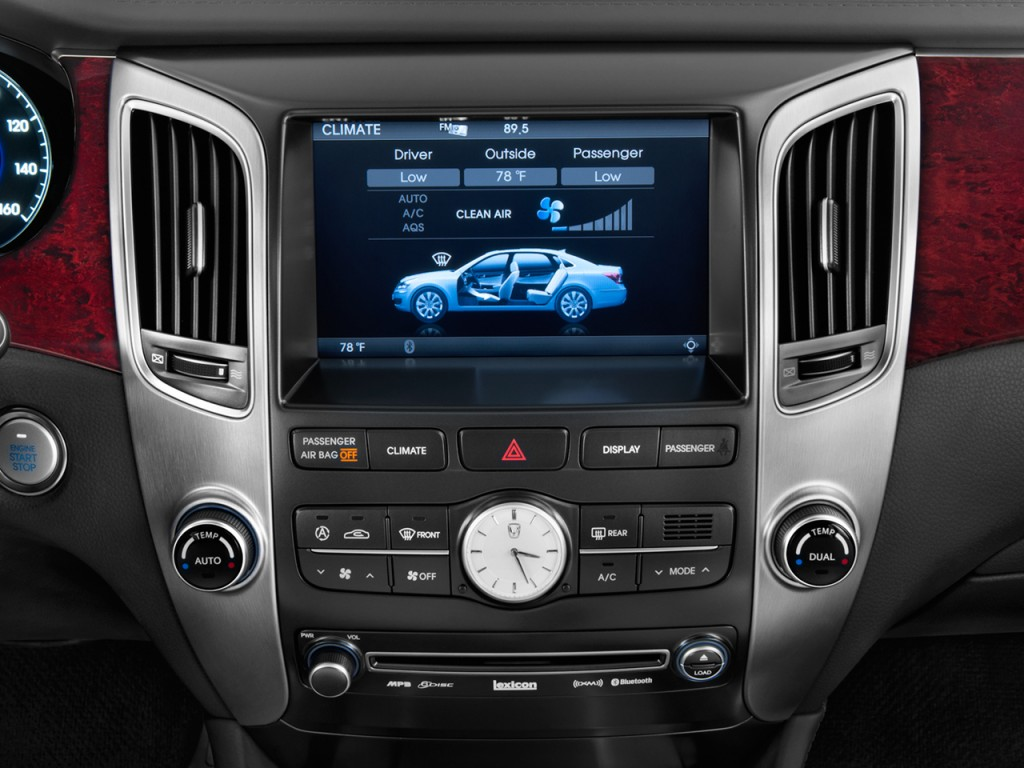Image 2012 Hyundai Equus 4 Door Sedan Ultimate