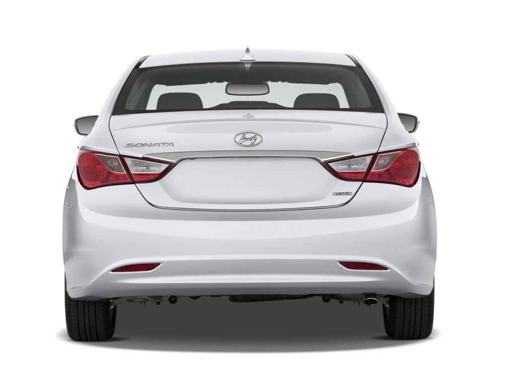 Image 2012 Hyundai Sonata 4 Door Sedan 2 4l Auto Limited Rear Exterior View Size 1024 X 768