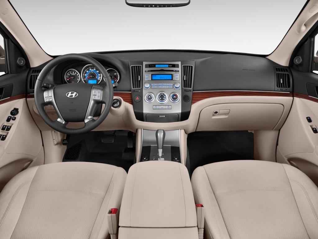 Image 2012 Hyundai Veracruz Fwd 4 Door Gls Dashboard
