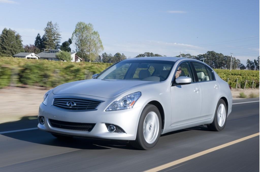 2013: Infiniti Ups EX, FX SUVs to 37--But Drops G25 Sedan