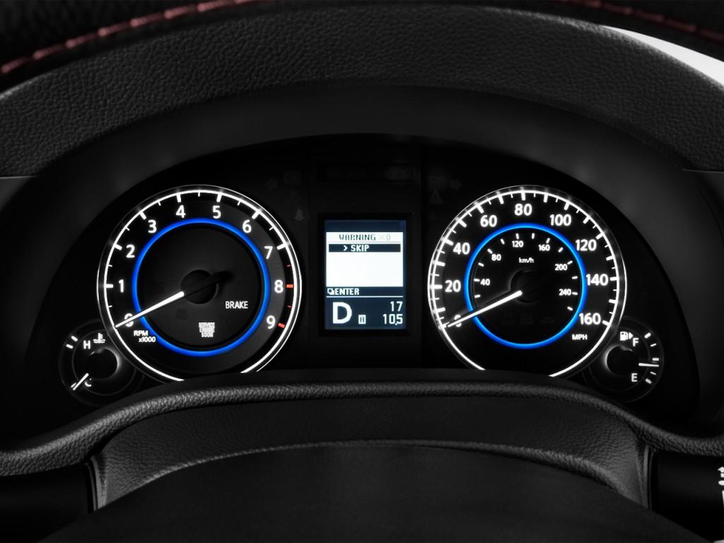 Image: 2012 Infiniti G37 Coupe 2-door IPL RWD Instrument ...