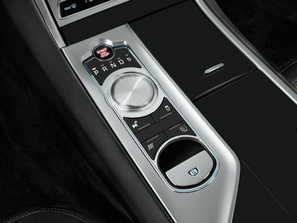 Image 2012 Jaguar Xf 4 Door Sedan Portfolio Gear Shift