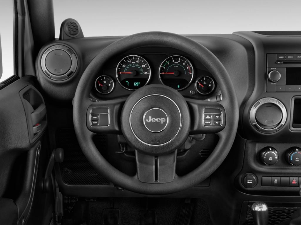 image 2012 jeep wrangler 4wd 2 door sport steering wheel size 1024 x 768 type gif posted. Black Bedroom Furniture Sets. Home Design Ideas