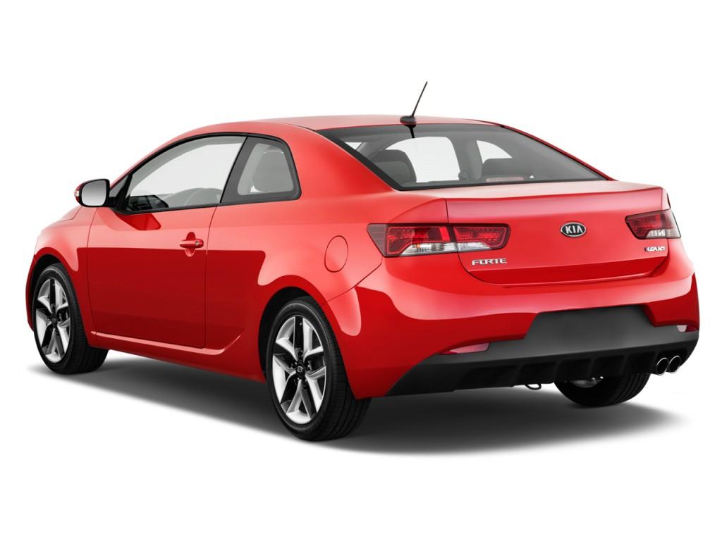 2012 kia forte koup 2 door coupe auto sx angular rear exterior view
