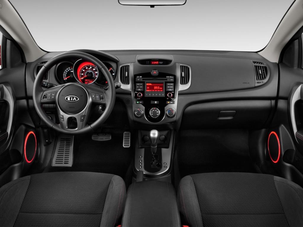 image 2012 kia forte koup 2 door coupe auto sx dashboard. Black Bedroom Furniture Sets. Home Design Ideas