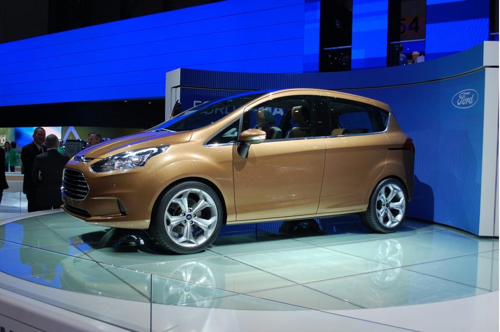 2011 Ford B-Max Concept Live Photos: 2011 Geneva Motor Show