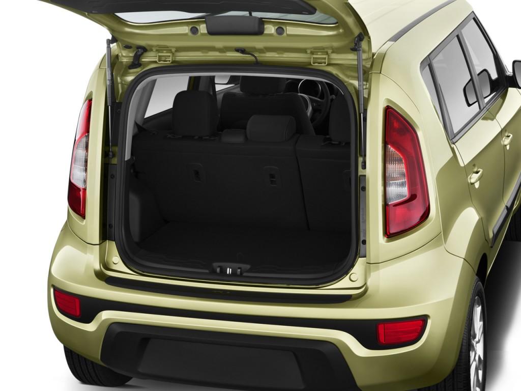 Image: 2012 Kia Soul 5dr Wagon Auto Base Trunk, size: 1024 ...