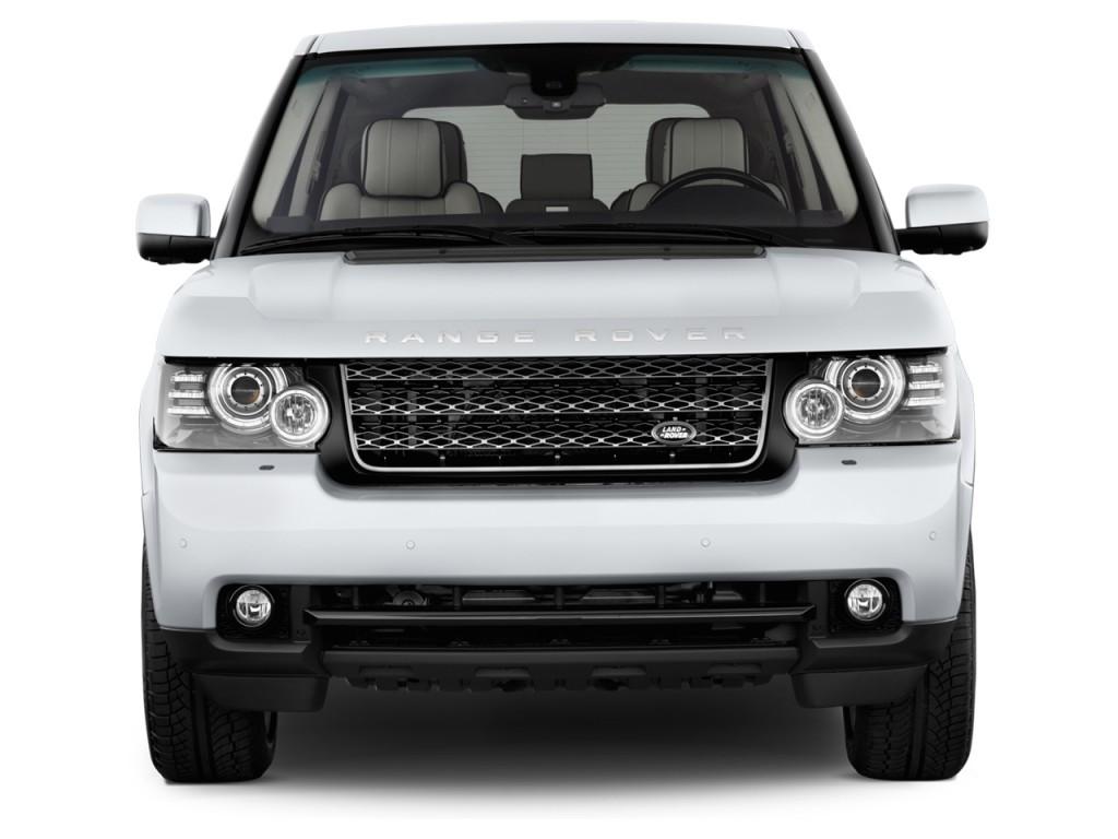 Image: 2012 Land Rover Range Rover 4WD 4-door HSE Front ...