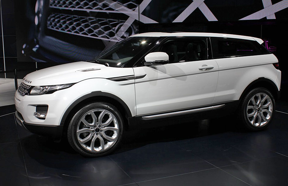 Mercedes Benz Of San Francisco >> 2010 Paris Auto Show: 2011 Range Rover Evoque Live Photos