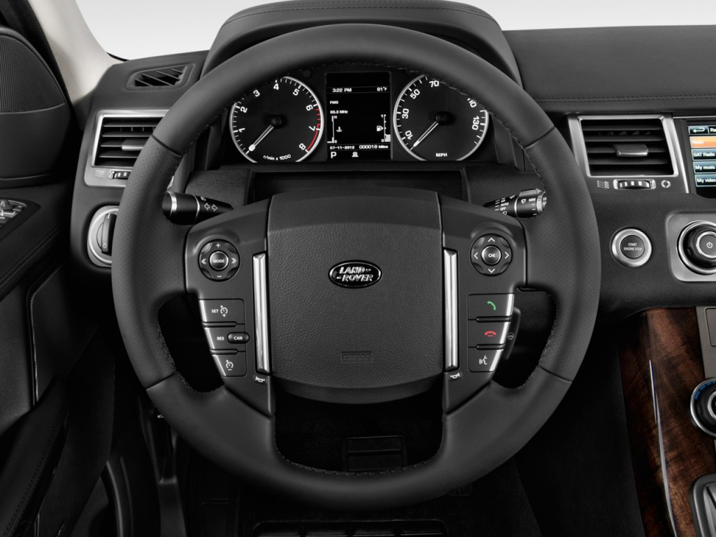 Image 2012 Land Rover Range Rover Sport Steering Wheel Size
