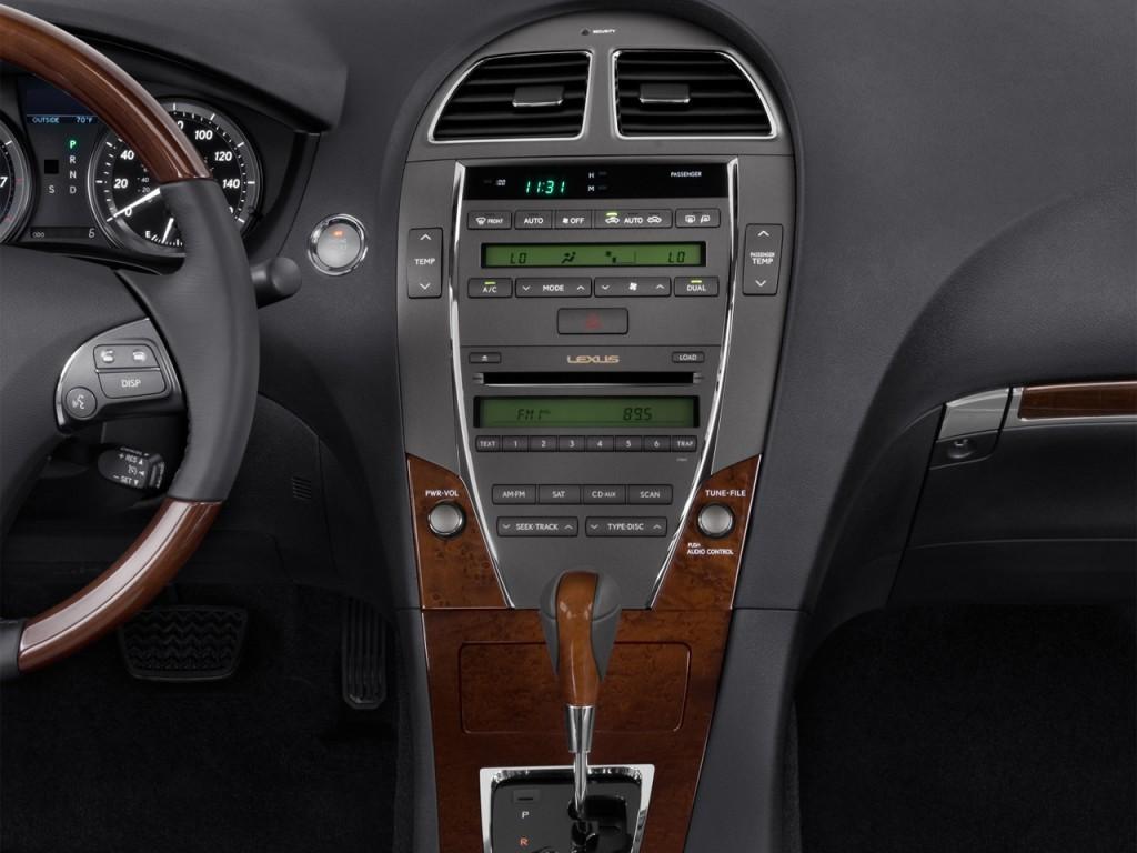 Image: 2012 Lexus ES 350 4-door Sedan Instrument Panel ...