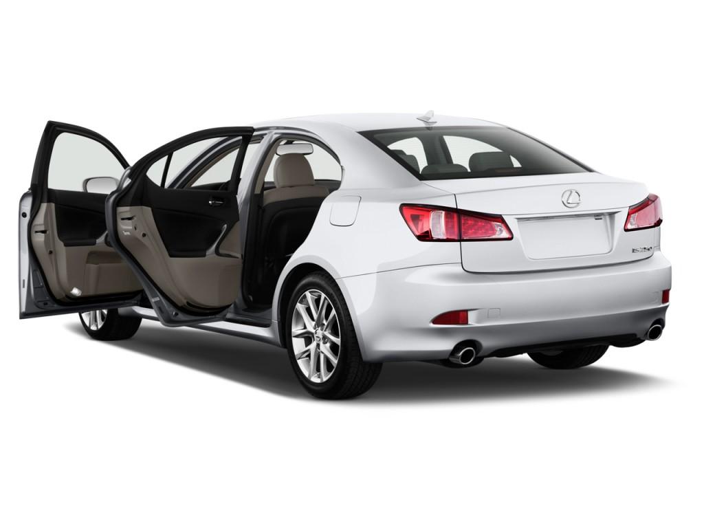 image 2012 lexus is 250 4 door sport sedan auto rwd open doors size 1024 x 768 type gif. Black Bedroom Furniture Sets. Home Design Ideas