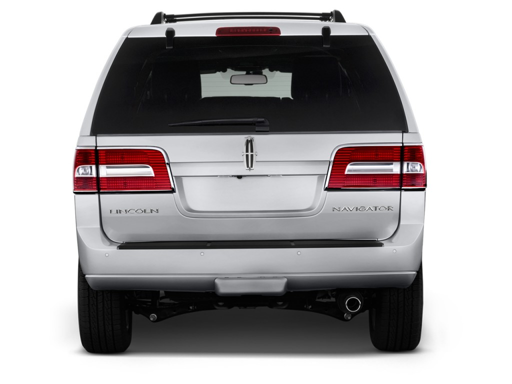 Image 2012 lincoln navigator 2wd 4 door rear exterior for Rear exterior door