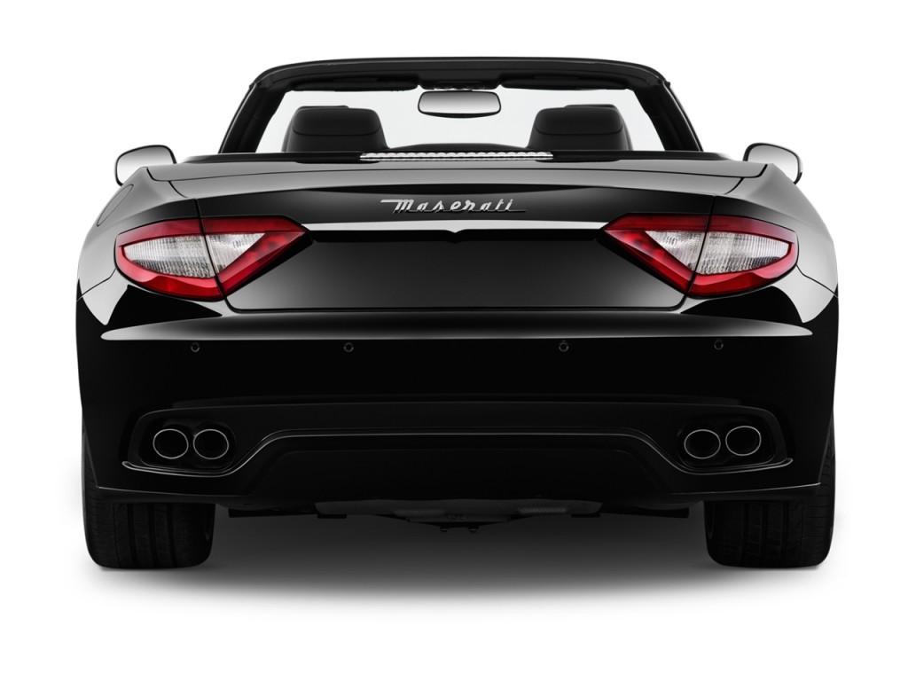 2012 Maserati GranTurismo 2-door Convertible GranTurismo Sport Rear Exterior View