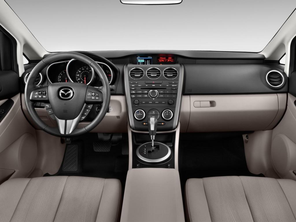 image 2012 mazda cx 7 fwd 4 door i sport dashboard size. Black Bedroom Furniture Sets. Home Design Ideas