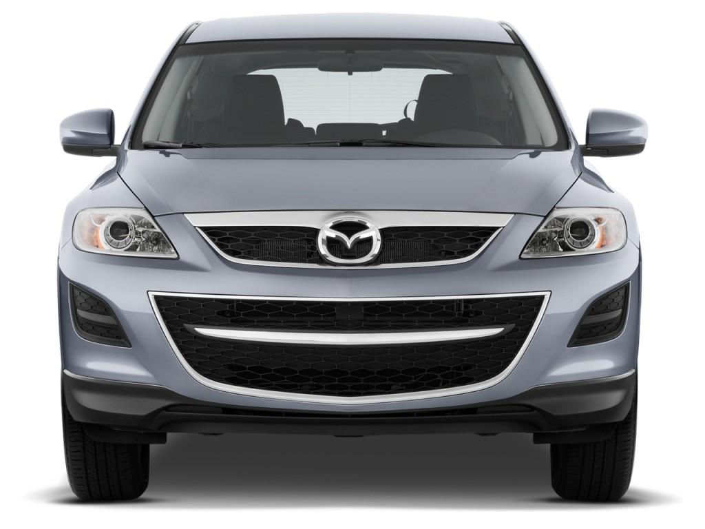 Image: 2012 Mazda CX-9 FWD 4-door Sport Front Exterior ...