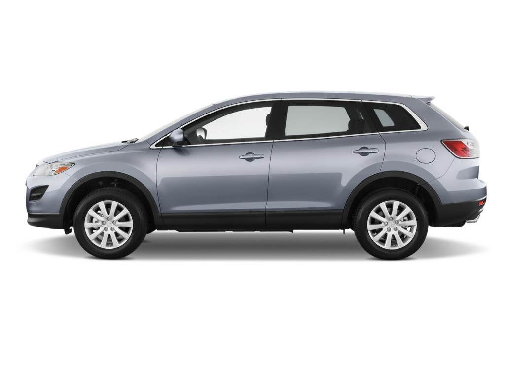 Image 2012 Mazda Cx 9 Fwd 4 Door Sport Side Exterior View Size 1024 X 768 Type Gif Posted