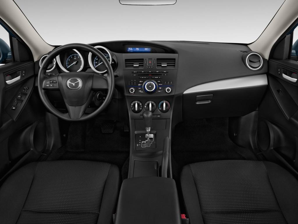 image 2012 mazda mazda3 4 door sedan auto i sport dashboard size 1024 x 768 type gif. Black Bedroom Furniture Sets. Home Design Ideas