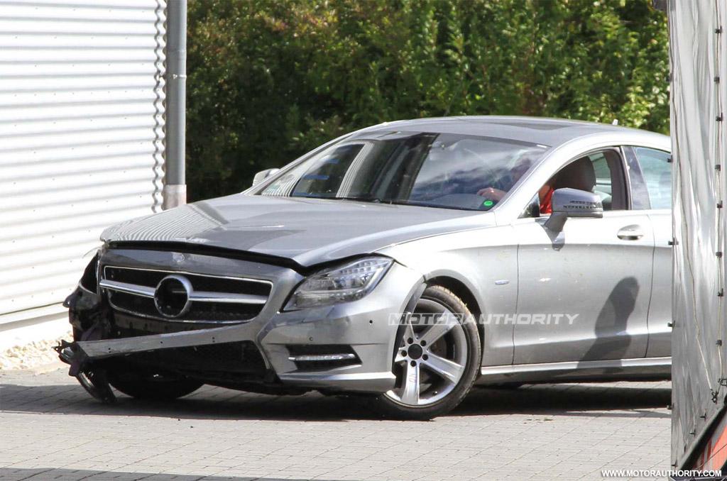 2012 Mercedes-Benz CLS first crash