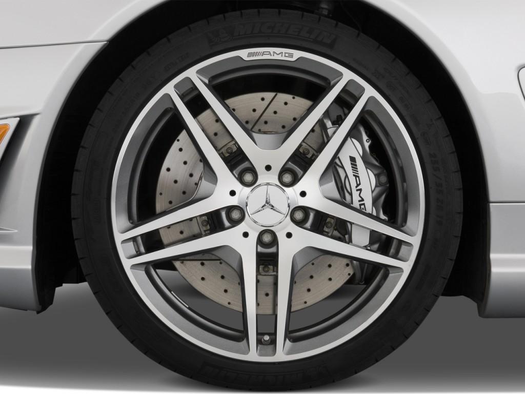 Image 2012 mercedes benz sl class 2 door roadster 6 3l for Mercedes benz 6 wheel