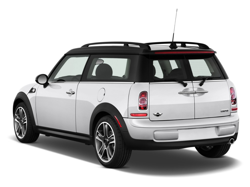 Image 2012 mini cooper clubman 2 door coupe angular rear for Rear exterior door