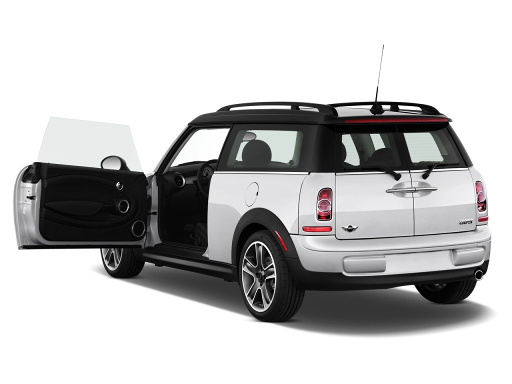 Gas Mileage For A Hummer >> Image: 2012 MINI Cooper Clubman 2-door Coupe Open Doors, size: 1024 x 768, type: gif, posted on ...