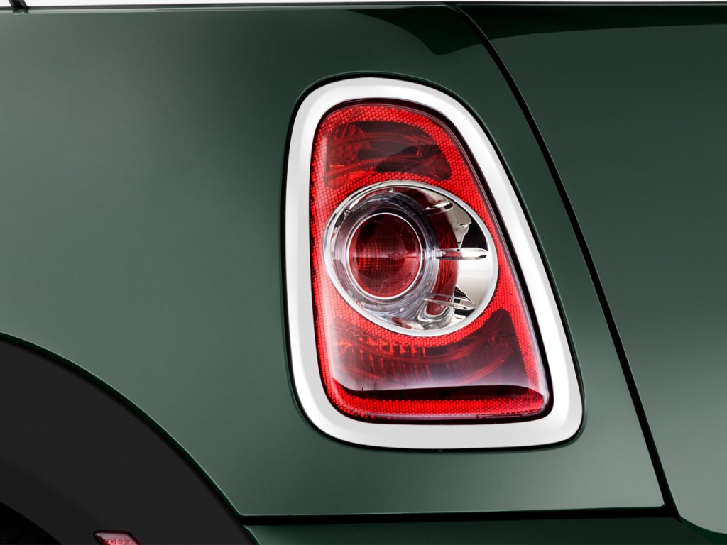 Porsche Electric Car >> Image: 2012 MINI Cooper Convertible 2-door Tail Light ...