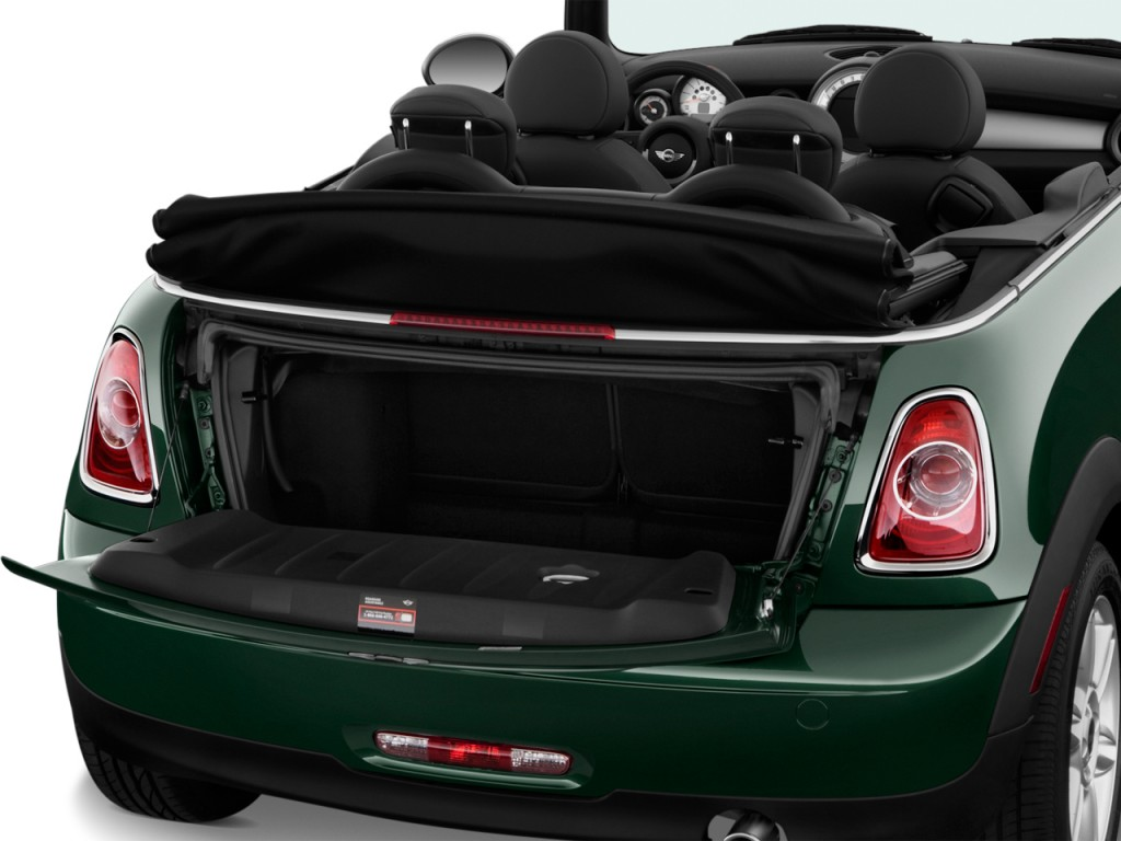 Image 2012 Mini Cooper Convertible 2 Door Trunk Size